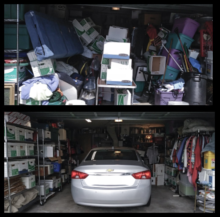 Don't let your cluttered garage get you down, call us today!